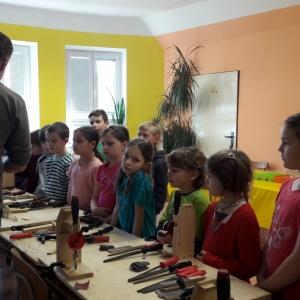 Dřevíčková dílnička - Projektový den v SVČ