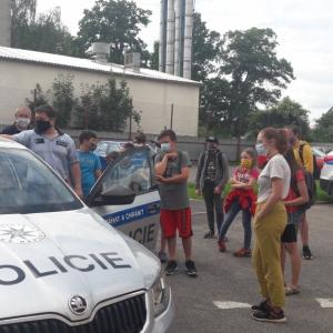 Projektový den - Činnost policie ve vztahu k mládeži