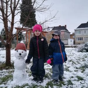 Sněhuláci pro štěstí